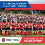 Aniversario 64 de la Federación de Rugby de Chile: Día del Rugbista Chileno