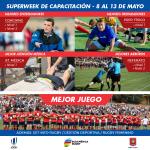Del 8 al 13 de mayo – Super Week en Chile Rugby con Capacitaciones en varios ámbitos