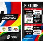 Horarios y partidos del Sudamericano 6 Naciones