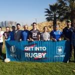 Nueva Capacitación Get Into Rugby a escuelas Mall Plaza